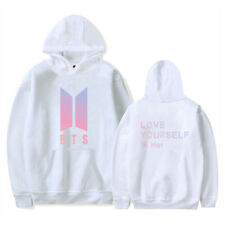 Kpop BTS Bangtan Boys love Yourself Hoodie SUGA J-HOPE JIMIN JIN Sweater Unisex