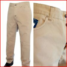 Pantalone uomo ,Marca Thirtyfive Milano, Made in Italy, Nuovo , cotone , beige