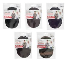 Pack of 2 Marbet Cord-Effect Iron On Elbow Knee Mending Patches Made in Italy