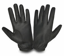 LEATHER GLOVES SOFT COMFORTABLE RIDING MOTORBIKE CAR BUS OUTDOOR WALKING