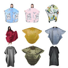 High Quality Waterproof Adult Hairdressing Salon Gown Cape Hair Cut Salon Barber