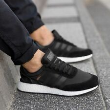 adidas INIKI Runner Black White BOOST Sneakers Trainers Shoes