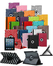 "Amazon Kindle Fire HD 8 (7th Gen 2017 8"" HD) Tablet - Rotating Case Cover +Stand"