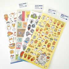 Goro Goro Nyansuke cats stickers cute kawaii kitsch