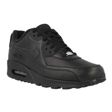 Nike Air Max 90 Leather 302519001 noir baskets basses