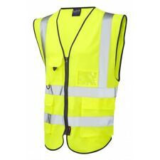 High Visibility Tech Vest - YELLOW - ISO 20471 Class 2 Superior Waistcoat x10