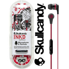 100% Original Sealed Pack Skullcandy Ink'd in-ear Earphone Headphone with Mic