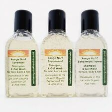 ALOPECIA HAIR LOSS relief - Organic Shampoo Sample Pack for Hair Growth Regrowth