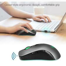 Mouse da gioco ottico con mouse wireless 2.4GHz con LED Light per PC
