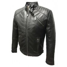 """Leather Jacket """" Anthony """" from the Best nappa-echtleder in Black, Size S (48)"""