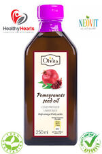 Pomegranate seed oil cold pressed, unrefined - 100 / 250ML Glass Bottle - NEOVIT