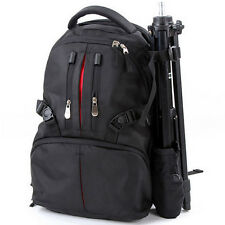 Large Waterproof DSLR SLR Camera Backpack Laptop Travel Rucksack Rain Cover Bag
