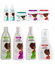ORS Curls Unleashed Moisturizing Hair Styling Detangling Sulfate Free Hair Care