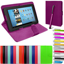 "Universal Kindle PU Leather Folio Tablet Case Cover For 9"" 10"" 10.1"" 9.7"" 9.6"""