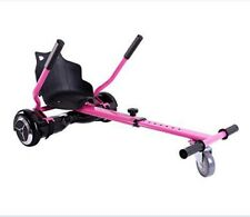 ASIENTO ACOPLE PATINETE ELECTRICO ROSA PINK HOVERBOARD HOVERKART KART SILLA