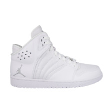 Nike Air Jordan 1 Flight 4 All White Sneaker Zapatos Baloncesto blanco 820135100