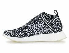 ADIDAS NMD CS2  NMD_CS2 PRIMEKNIT SASHIKO -  WHITE / BLACK - BY3012 - UK 10
