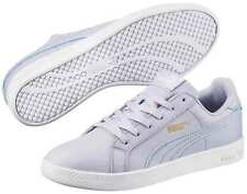 PUMA SMASH CHAUSSURES FEMME BASKETS SNEAKERS 360780 015 BLANC BLEU GLACE NEUF