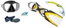 Mares Set Immersione X-Stream Giallo Professional Set ABC ERL 36-47