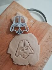 Darth Vader Star Wars Cookie Cutter Gingerbread Fondant Biscuit Pastry