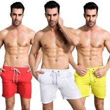 Men Male Quick-dry Sports Breathable Shorts Beach Pants Fitness Running Trousers