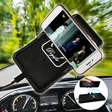 Qi Wireless Charger Mat Car Dashboard Holder Stand Non-Slip Pad for iPhone X