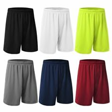Men Male Quick-dry Jogging Casual Shorts Pants Sports Fitness Gym Half Trousers