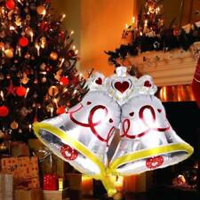 Large Cute Tinkle Bell Aluminum Foil Balloon Christmas Party Xmas Decor baloons