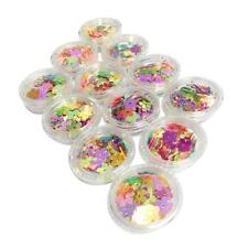 MagiDeal Lot Nail Art Fashion Decoration Glittering Paillettes Tip Sticker