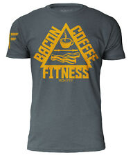 """rokfit The Trifecta - Bacon, Caffè & Fitness """" Indaco """" CROSSFIT"""