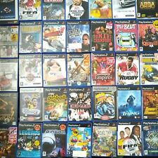 BUNDLE of RARE / COLLECTABLE Playstation 2 Games PS2 ? Sony Play Station Set #4