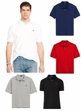 Polo Ralph Lauren Mens Genuine New Custom Fit Short and Long Sleeve Polo Shirts