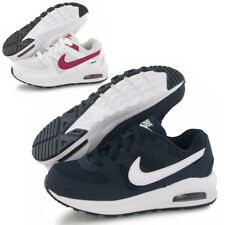 Boys Girls Nike Air Max Command Leather Trainers Sports School Gym Running Shoes