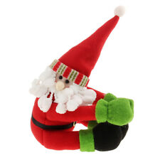 Santa Claus Wine Bottle Cover Set Christmas Dinner Party Xmas Table Decoration