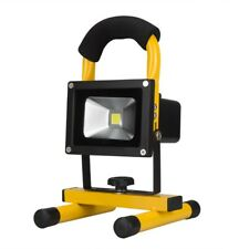 Rechargeable LED 10W Flood Spot Light Outdoor Portable Floodlight Work Lamp IP65