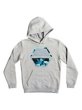 Quiksilver Comfort Place Hoody - Grey - Boys Hoodies