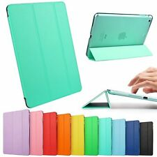NEW UK APPLE IPAD MINI/AIR/2/3/4/PRO Leather Smart Cover Magnetic Folding Case