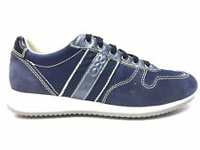 SCARPE SNEAKERS CASUAL DONNA GEOX ORIGINAL MUSA D91W9B PELLE SHOES P/E NEW