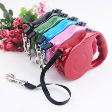 Hot Dog Automatic Lead Leash Pet Cat Puppy Walking Retractable Traction Rope New