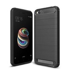 For Xiaomi Redmi 5A Back Cover Rugged Brushed Hybrid Soft Case