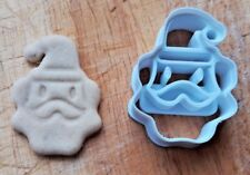 Santa Claus Babbo Natale Christmas Gingerbread Cookie Cutter Fondant Pastry