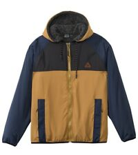 NWT Mens BILLABONG Jacket Windbreaker Eureka Men's Zipped