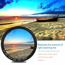 49/52/55/58/67/72/77MM ND4 Middle Gray Thin Waterproof ND4 Len Filter TL