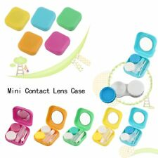 Plastic Mini Contact Lens Case Outdoor Travel Contact Lens Holder Container TU