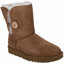UGG Womens Bailey Button Boots Chestnut All Sizes