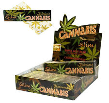Cannabis Pattern Hemp Flavoured Tobacco Cigarette Joint Rolling Papers