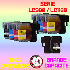* CARTOUCHES * LC980 * LC980BK LC980C LC980M LC980Y pour BROTHER DCP365CN