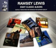 Audio CD EIGHT CLASSIC ALBUMS RAMSEY LEWIS (4 CD) REAL GONE JAZZ Nuovo Musica