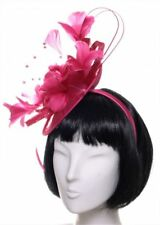 Emma B Fascinator esclusivo Fucsia CERCHIELLO SPOSA PER PARTY