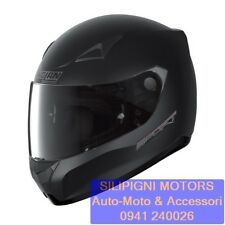 NOLAN N60-5 SPORT 13 FLAT BLACK + VISIERA GREEN CASCO INTEGRALE MOTO RACING TOUR